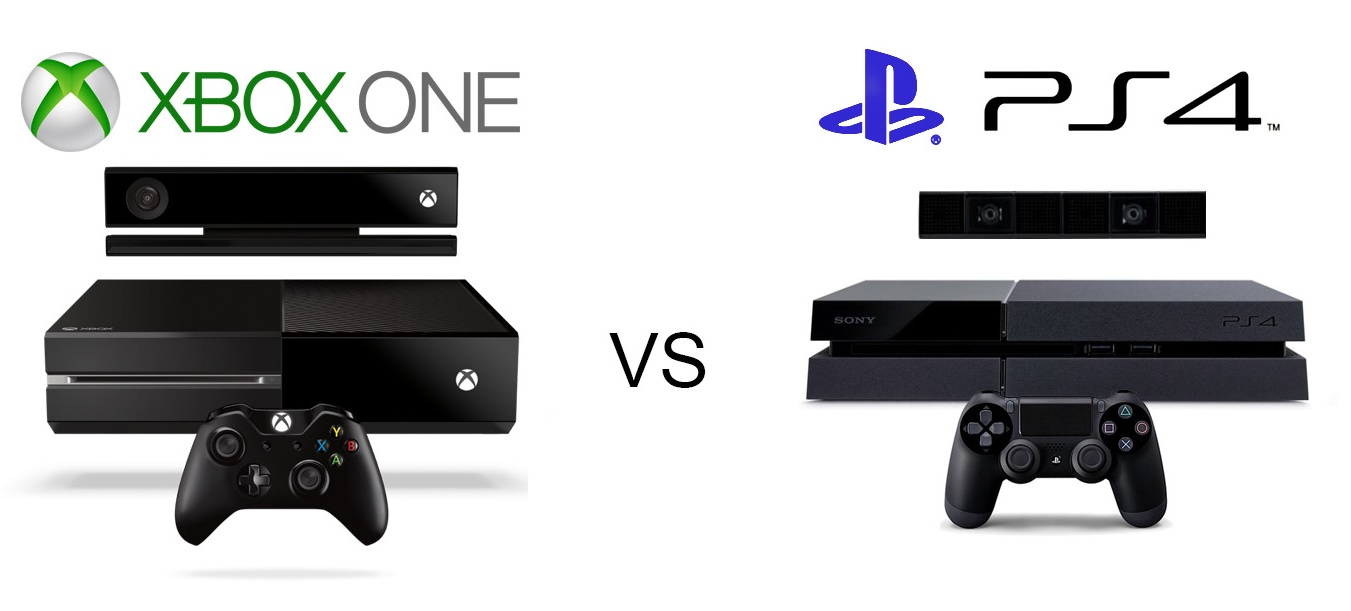 xBox One vs PS 4  xBox One vs. PlayStation 4 - Consolele Microsoft si Sony xBox One vs PS 4