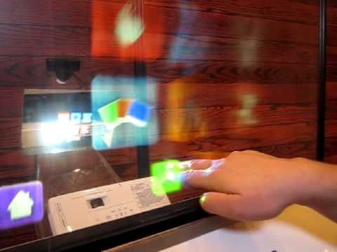 touchscreen  Ultima invenție IT: Touchscreen-ul format din picături de apă touchscreen