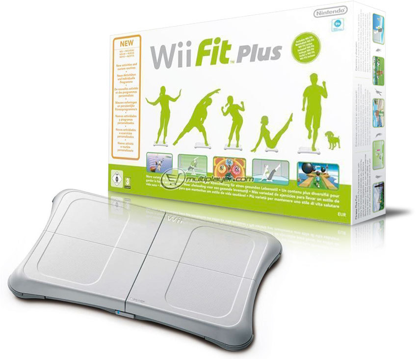Wii Fit Plus + Balance Board  Nintendo Wii Fit Plus + Balance Board  Wii Fit Plus   Balance Board