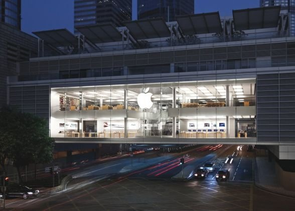 Apple Hong Kong  Magazinele impresionante Apple – Dovadă de lux și profesionalism Poze Apple Hong Kong